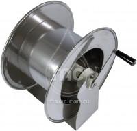 Ручной усиленный барабан из окрашенной стали для шланга AVM 9812 FE