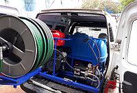 Гидродинамическая машина для прочистки труб MC 190/50 BENZ (190 bar) электростартер, фото 5