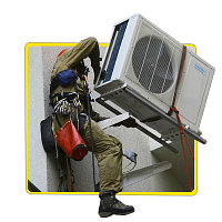 Демонтаж+Монтаж кондиционера 7-9 модели(Стена Монолит), фото 1