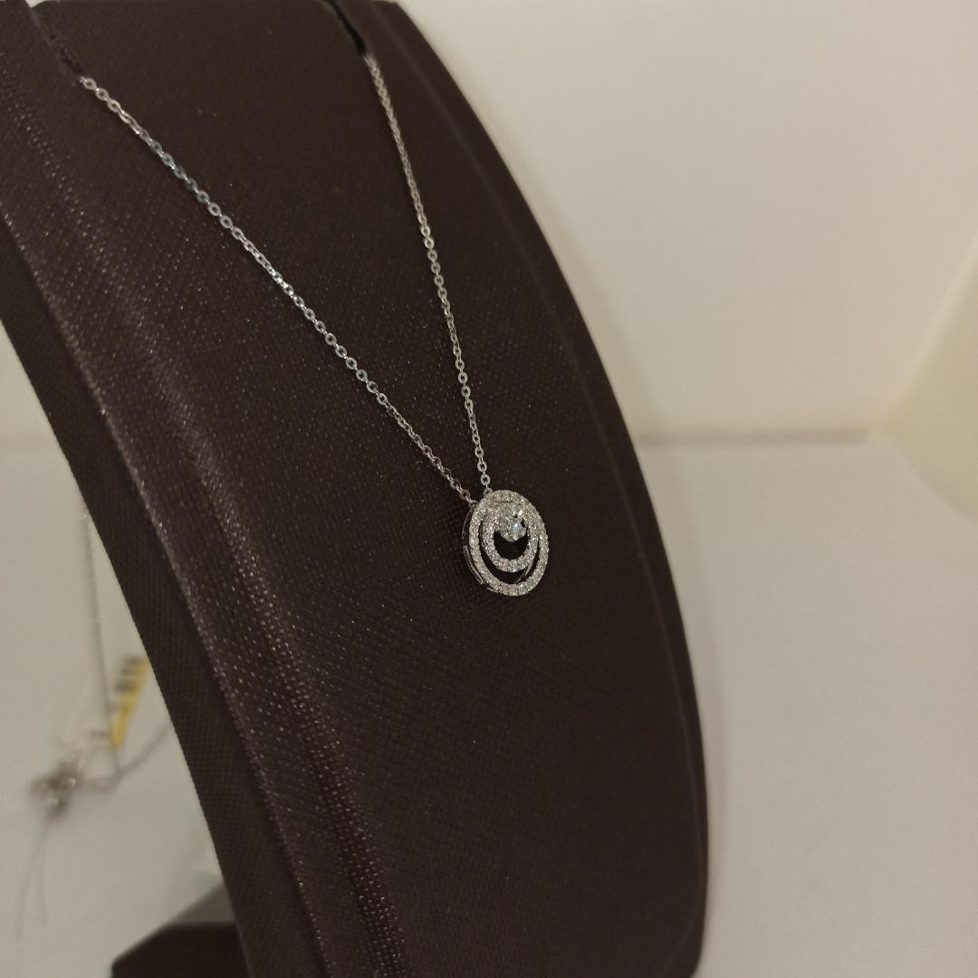 Золотой комплект с бриллиантами - фото 8