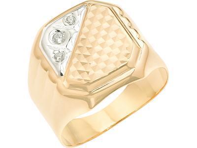 Золотое кольцо Атолл 4141А_195