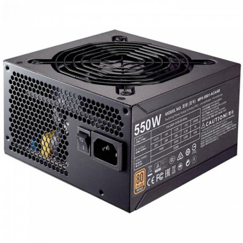 Блок питания CoolerMaster MWE 550 BRONZE (550W)