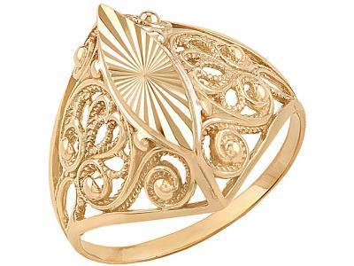 Золотое кольцо Атолл 4106А_175