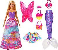 Кукла Барби Dreamtopia принцесса русалка 18 образов, фото 1