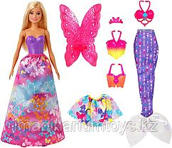 Кукла Барби Dreamtopia принцесса русалка 18 образов