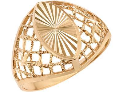 Золотое кольцо Атолл 4104А_175
