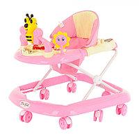 Детские ходунки Bambola Пчёлка розовый