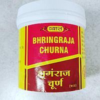 Брингарадж чурна - порошок (Bhringraja Churna) для здоровья волос, от облысения, 100 гр