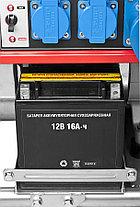 Генератор бензиновый, ЗУБР, 5.7/6.2 кВт, однофазный, синхронный, щеточный (ЗЭСБ-6200-Э), фото 2