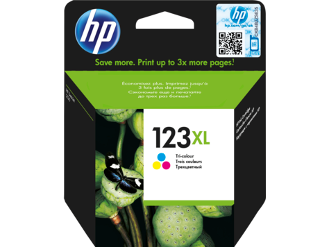 Картридж струйный увеличенной емкости HP 123XL (F6V18AE) Color