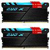Оперативная память 16GB Kit (2x8GB) GEIL DDR4 2400MHz EVO X SERIES PC4-19200 (GEXB416GB2400C16DC), black