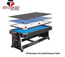 Игровой стол 3в1 (7Фут) 7ft Revolver 3in1 Multi Games Table