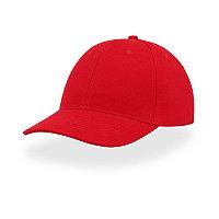 Бейсболка LIBERTY SIX, 6 клиньев, застежка на липучке, Красный, -, 25436.08