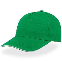 Бейсболка START FIVE SANDWICH, 5 клиньев, застежка на липучке, Зеленый, -, 25439.15