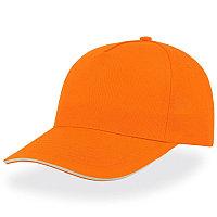 Бейсболка START FIVE SANDWICH, 5 клиньев, застежка на липучке, Оранжевый, -, 25439.05