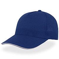 Бейсболка START FIVE SANDWICH, 5 клиньев, застежка на липучке, Темно-синий, -, 25439.25
