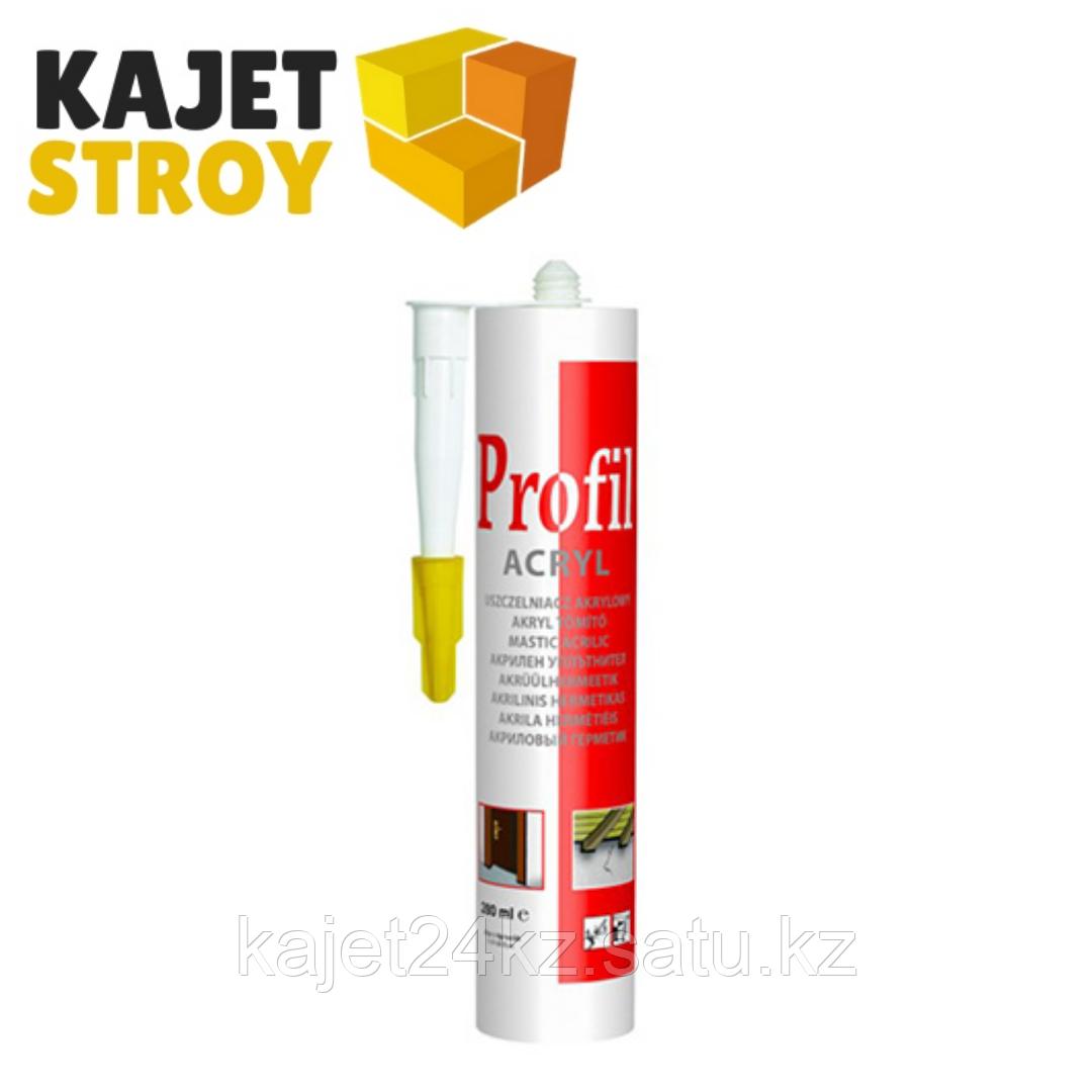 Акриловый окрашиваемый герметик PROFIL 280мл