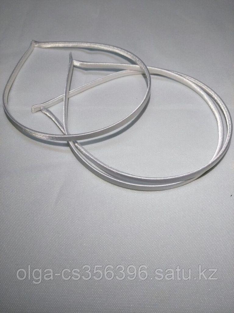 Ободочки в тани. 0,7 мм. Белые.  Creativ 2396