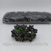Букетик тычинки. Черные.  Creativ  2757