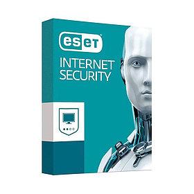 Антивирус Eset NOD32 BOX Internet Security продление или новая лицензия на 1 год 3ПК