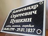 Табличка на памятник, фото 5