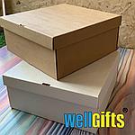 Подарочная картонная коробка для упаковки 35х25х10 см, фото 3