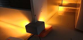 Светодиодный наружный светильник - УГОЛОК - Желтый