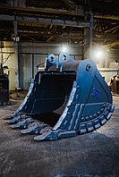 Ковш скальный сверхусиленный для экскаватора Volvo EC750 (объем:4,6м3, Ширина: 2250мм)