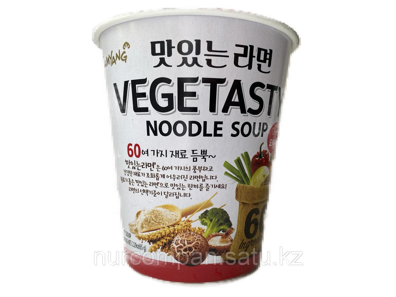 Вегетарианский рамен в стакане