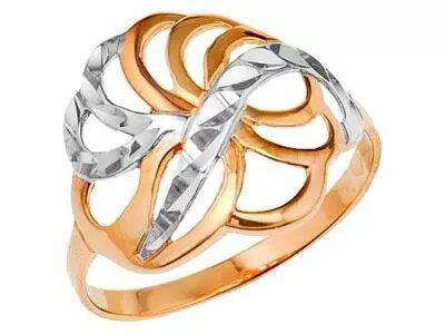 Золотое кольцо Атолл 10543А_185
