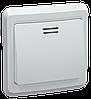 ВС10-1-1-ВБ Выключатель 1кл 10А с инд. ВЕГА (белый) IEK