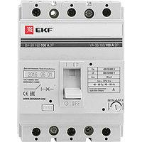 Выключатель автоматический ВА-99 160/125А 3P 35кА EKF PROxima
