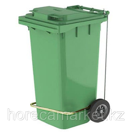 Контейнер для мусора 240 л с педалью, фото 2
