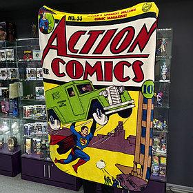 Плед Action comics Супермен