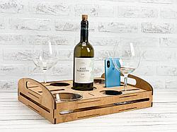 Подарочный набор для подачи напитков и закусок.