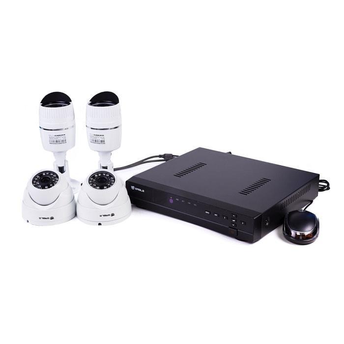Комплект AHD видеонаблюдения EAGLE EGL-AS5004B-BVH-304  (Комплект AHD видеонаблюдения, EAGLE EGL-AS5004B-BVH-304, 4-х канальный DVR, H.264, Скорость