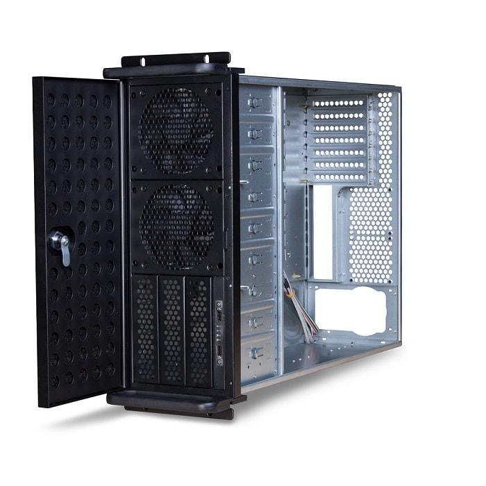"Компьютерный корпус с салазками Delux DLC-MU415  (Компьютерный корпус с салазками, Delux, DLC-MU415, ATX, 19"""