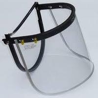 Шиток защитный для лица прозрачный/ Visor and bracket