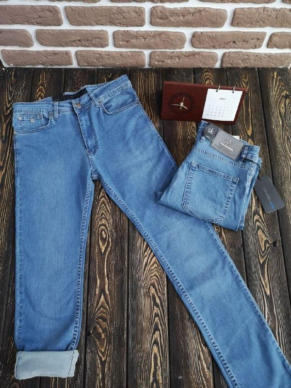 Мужские летние джинсы - фото 1
