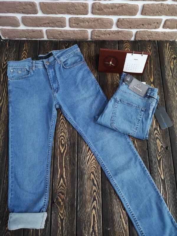 Мужские летние джинсы - фото 5