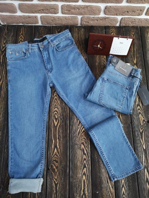 Мужские летние джинсы - фото 3