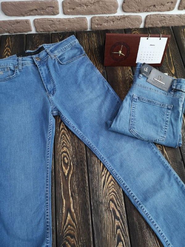 Мужские летние джинсы - фото 4