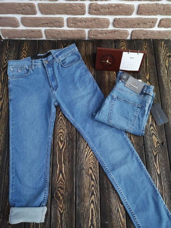 Мужские летние джинсы - фото 2
