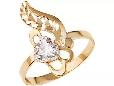 Золотое кольцо Атолл 10408А_185