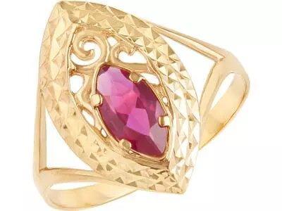 Золотое кольцо Атолл 10393А_185