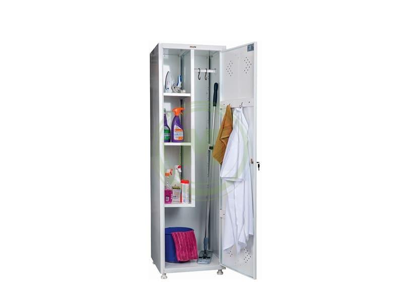 Медицинский шкаф МД 1 ШМ-SS для одежды.
