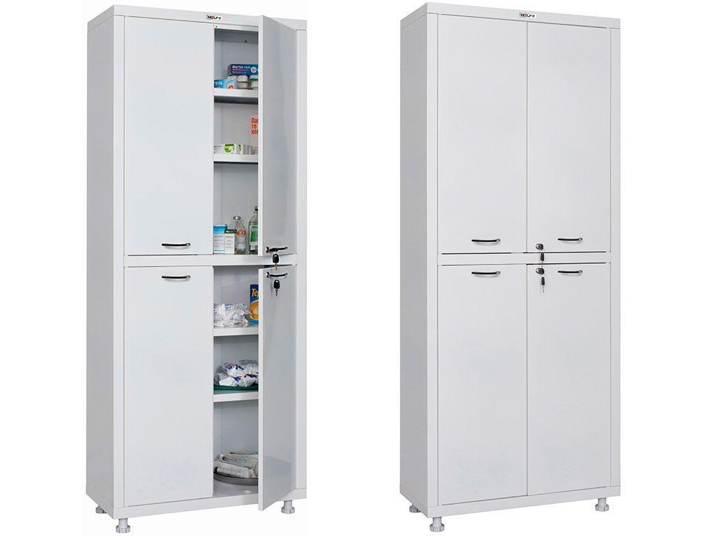 Медицинский шкаф МД 2 1670/SS