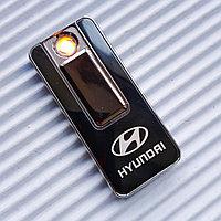 "USB - Зажигалка со спиралью ""HYUNDAI"", черная., фото 1"