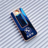 "USB - Зажигалка со спиралью ""BMW"", синяя., фото 1"