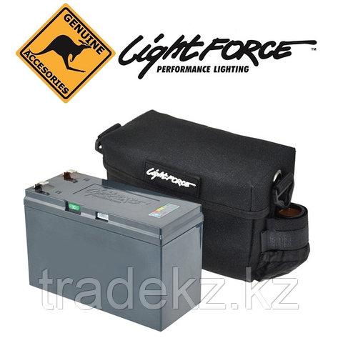 Аккумулятор LIGHTFORCE LiFePo4 (12.8V - 7.5Ah) с футляром и зарядным устройством, фото 2